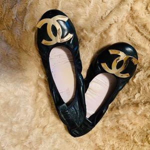 Chanel vintage women's flats 💖